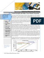 Issue No 47 - Yield Strength and Other Near-Elastic Properties