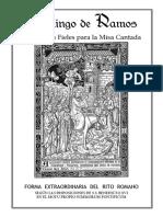 Guía de los fieles para la Santa Misa del Domingo de Ramos