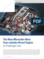 The New Mercedes-Benz Four-Cylinder Diesel Engine for Passenger Cars