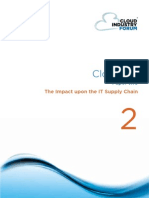 Cif White Paper 2 2011 Cloud Uk Impact Upon the It Supply Chain