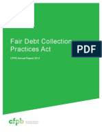 201303 Cfpb March FDCPA Report1
