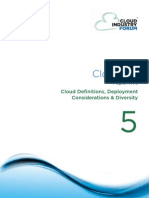Cif White Paper 5 2012 Cloud Definitions Deployment Considerations Diversity
