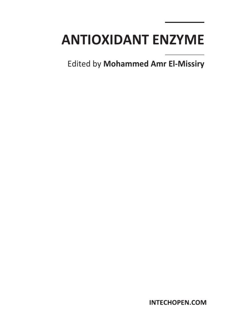 84985d04604 Antioxidant Enzyme   Antioxidant   Reactive Oxygen Species