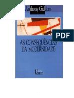 ANTHONY GIDDENS - As Consequencias da Modernidade.pdf