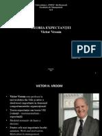 Teoria Expectantei Lui Victor Vroom
