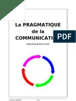 Pragmatique de La Communication
