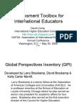 Global Perspectives Inventory (GPI) - NAFSA 2008 Presentation