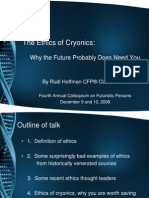 Hoffman Update - The Ethics of Cryonics