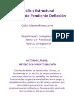Clase 06 - Método Pendiente-Deflexión