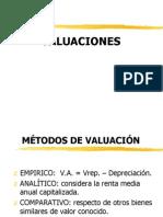 valuacion 2012