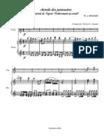 [Free com Mozart Wolfgang Amadeus Chorale Des Janissaires 10760