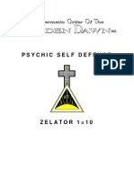 14881829 GOLDEN DAWN 110 Psychic Self Defense
