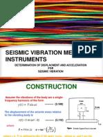Derivation of Seimic Vibration