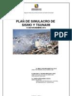 Plan Simulacro de Sismo 2012