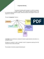 Programme Planninoh
