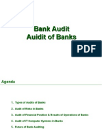 Audit of Banks  Audit