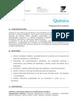 Quimica Programa 1-2013