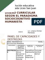 DISEÑO CURRICULAR POR COMPETENCIAS Y CAPACIDADES SEGÚN EL