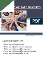 Voluntary Welfare Measures