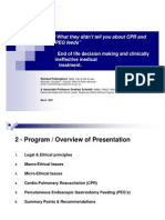 What They Didnt Tell You About CPR and PEG Feeds Presentation