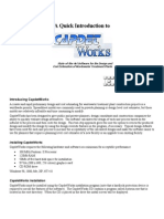CapdetWorks Quick Introduction