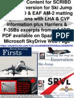 Ski Jump Information F-35B