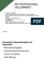 Teacher Profesional Divelopment