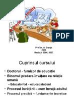 Curs 1 Metodica Predarii Stiintelor Medicale