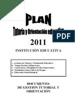 Plan Tutoria 2013