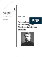 Nationalism, Ethnology in interwar Romania
