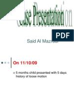 Case Presentation 09 11 09