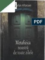 Stefan Afloroaiei - Metafizica Noastra de Toate Zilele