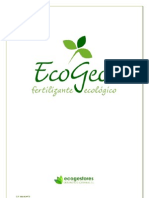 Ecogeos Mecanismo de Accion