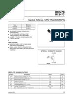 datasheet BC547B