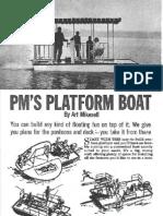Platform Boat