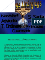 Diapositiva 1. Tiempos Liturgicos Su OrganizaciÓn cÍclica