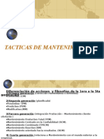 (0) Tacticas de Mantenimiento