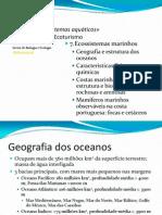 7. Ecossistemas de água salgada