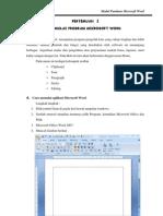 Pandu an Microsoft Office 2007