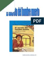 El secreto del hombre muerto ( Guillermo De La Gándara )