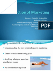 Introduction of Marketing