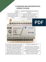 Ejemplo de Conexion PLC Micrologix 1000