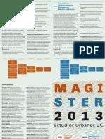 Afiche Magister 2013