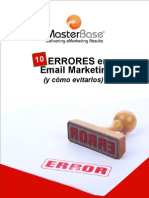 10 Errores en Email Marketing V2