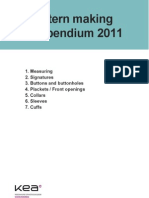 Compendium Pattern Making DT11