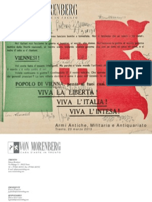 Datazione fucili italiani