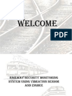 railway security monitoring system using vibration sensor and zigbee