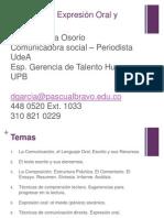 Técnicas de Exp. Oral y Escrita..