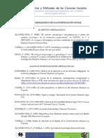 Bibliografía para el Método genealógico