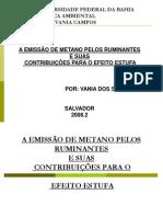 Seminario - Ruminantes e Efeito Estufa